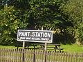 Pant Station Sign - geograph.org.uk - 978152.jpg