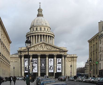 Pantheon de Paris.