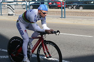 Paolo Bettini - Paolo Bettini in the Tour of California 2007.