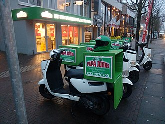 Papa John's Pizza - A Papa John's Pizza restaurant in Hoofddorp, Netherlands