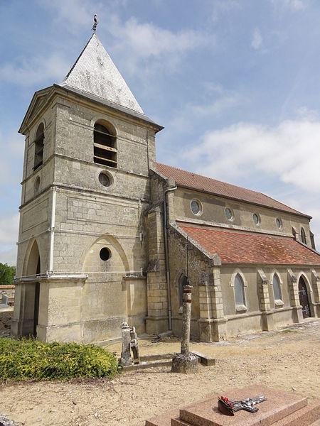 Pargnan (Aisne) église