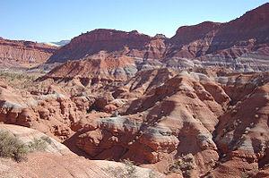 Paria River - A portion of upper Paria Canyon