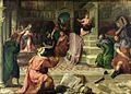 Paris Bordone - Il Bambino Gesù disputare nel tempio (Stewart Gardner Museum, Boston).jpg
