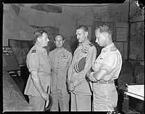 Park, Mellersh, Stevens, Hall in Calcutta WWII IWM CI 1141.jpg