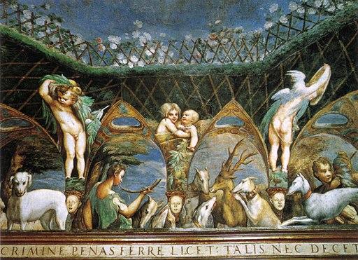 Parmigianino, affreschi di fontanellato 03