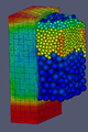 Particle temperature in a packed bed reactor.png