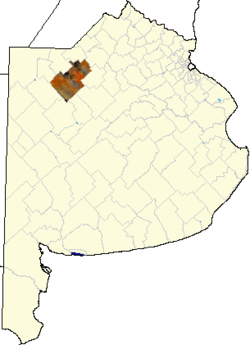 location o in Buenos Aires Province