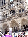 Parvis Notre Dame 18, 850th anniversary of Notre-Dame.jpg