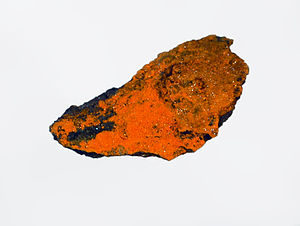 Pascoite - Pascoite from D-day N. 2 mine, Utah, U.S.