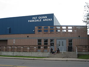 Parkdale Avenue (Hamilton, Ontario) - Pat Quinn Parkdale Arena