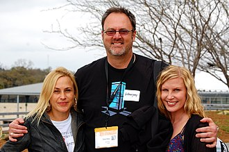 Patricia Arquette - Arquette (left) in March 2011