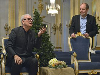 Peter Englund - Patrick Modiano and Peter Englund 2014.