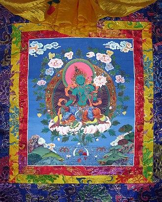 Paubha - Waumha Tara (Green Tara)