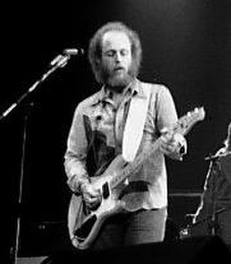 Paul Barrere - Barrere with Little Feat in Buffalo, New York, 1977