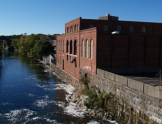 National Register of Historic Places listings in Pawtucket, Rhode Island - Image: Pawtucket Power Plant