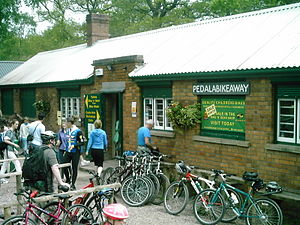 Cannop Cycle Centre - Image: Pedalabikeaway