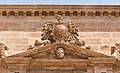 Pediment CoA Felipe II, Catedral, Almeria, Spain.jpg