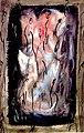 Pedro Meier Artist's Books, »Übermalte Buchseiten«. Klebealbum. Künstlerbuch, Buchobjekt, Buchkunst, Malerbuch. Fluxus, DADA. Ausstellung Kunstverein Aarburg 1992. Foto © Pedro Meier.jpg
