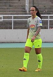 Peggy Nietgen BL FCB gg. 1. FC Koeln Muenchen-3
