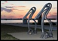 Pelican Bicycle Rack and Sunset-1and (3820975073).jpg