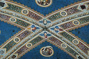 Santa Maria della Scala (Siena) - Frescoes in the Pilgrim's Hall by Domenico di Bartolo