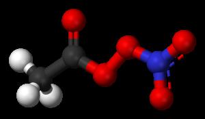 Peroxyacetyl nitrate - Image: Peroxyacetyl nitrate 3D balls
