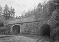 Perspective view of east portal, looking WSW. Allegheny tunnel at left; Gallitzin tunnel (HAER no. PA-516) at right jpg.jpg
