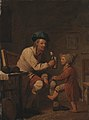 Peter Cramer - A Peasant Giving his Son Something to Drink - KMS1021 - Statens Museum for Kunst.jpg