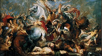 Publius Decius Mus (consul 340 BC) - The Death of Decius Mus in Battle (1618) by Rubens