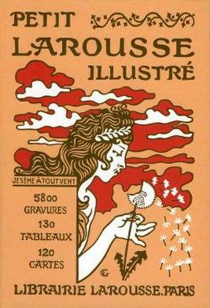Petit Larousse - Image: Petit larousse 1905