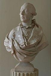 Joseph II. im Petit Trianon (Louis-Simon Boizot, 1777) (Quelle: Wikimedia)