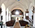 Pfärrich Pfarrkirche Blick zur Empore.jpg