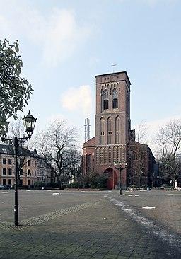 Dellplatz in Duisburg
