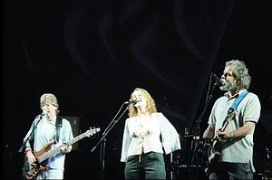 Joan Osborne - Lesh, Osborne, and Weir playing in Virginia Beach, Virginia, June 17, 2003