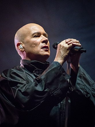 Philip Oakey - Oakey performing with The Human League in 2014