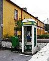 Phone box, Kilronan, Inishmore - geograph.org.uk - 296805.jpg