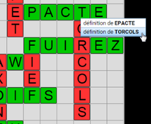 Balayer synonyme 7 lettres