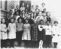 Photograph of Ronald Reagan's (second row, first from the left) Third Grade Class Photo - NARA - 198601.tif