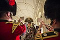 Pictured are The Fanfare Team from the Band of the Coldstream Guards MOD 45159254.jpg