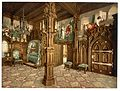 Pictures of Tristan story, bedroom, Neuschwanstein Castle, Upper Bavaria, Germany-LCCN2002696259.jpg