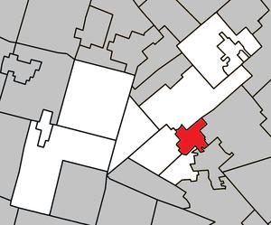 Piedmont, Quebec - Image: Piedmont Quebec location diagram