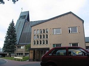 Pielisensuu Church - Image: Pielisensuun kirkko 3