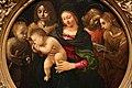 Piero di cosimo, madonna col bambino, san giovannino, santa cecilia e angeli, 1505 ca. 02.jpg