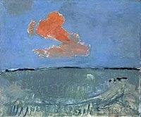Piet Mondriaan - De rode wolk (authentiek) - 0333219 - Kunstmuseum Den Haag.jpg