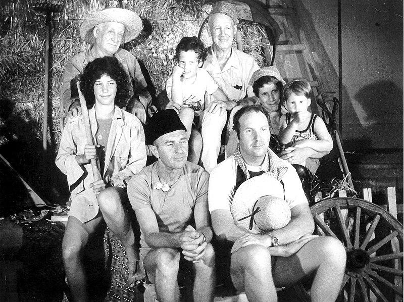 גן-שמואל-בחג הקבוץ 1980