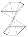 Pinacoid with symmetry center.png