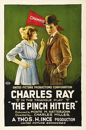 The Pinch Hitter - Film poster