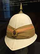 Pith helmet - Royal Canadian Military Institute - Toronto, Canada - DSC00325.jpg