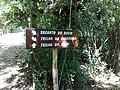 Placa no nucleo cabuçu (acesso para trilha da cachoeira) - panoramio.jpg