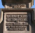 Plaque, Malvern Wells C.of E. Primary School - geograph.org.uk - 702076.jpg